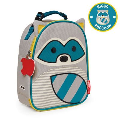 Skip Hop Zoo Lunchie Lunch Bag - Raccoon