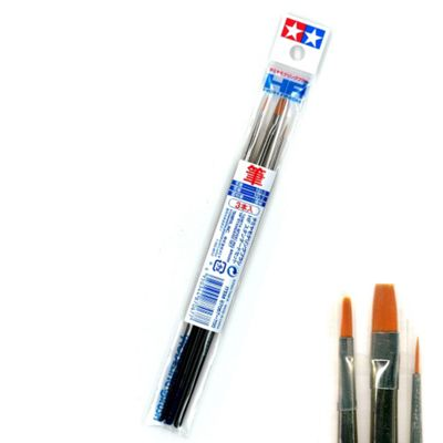 Modeling Brush HF Standard Set - Paint Brushes - Tamiya