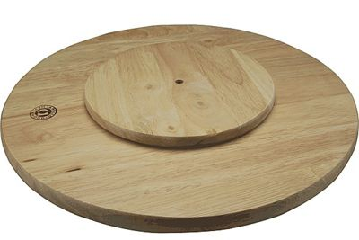 Apollo Rubberwood Lazy Susan, 35cm