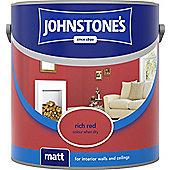 Johnstone's Matt Tester 75ml Rich Red