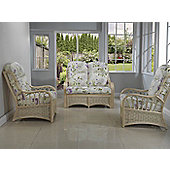 Desser Vale 2 Seater Sofa and 2 Chairs Conservatory Furniture Set