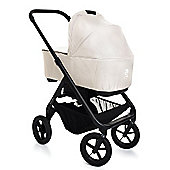Easywalker Mosey 2 in 1 Pram (Black Frame) - Washington Off-White + Maxi Cosis Adaptors