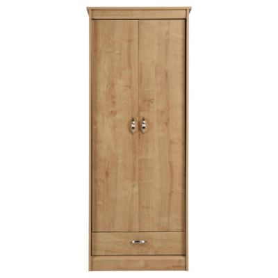 Thornton 2 Door Wardrobe,  Oak Effect