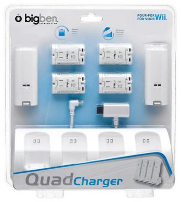 Wii Charger Stand and Battery Pack
