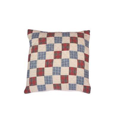 Woven Magic Tartan Scottish Blue Cushion