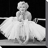 Marilyn Monroe Ballerina Canvas Print