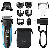 Braun Series 3 Shave & Style 3010BT 3-in-1 Electric Wet & Dry Shaver with Precision Trimmer