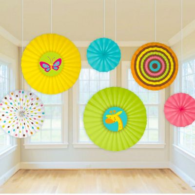 Baby Shower Hanging Fans