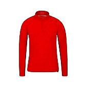Mountain Warehouse Merino Mens Long Sleeved Zip Neck Top ( Size: M )