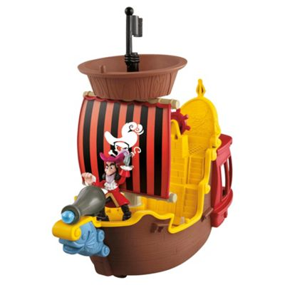 Jake The Neverland Pirates Hook's Jolly Roger Fisher Price