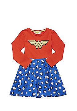 DC Comics Wonder Woman Skater Dress - Multi