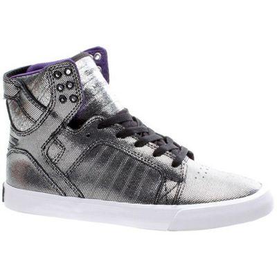 Supra Skytop Black/White/White Womens Shoe