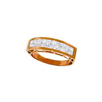 QP Jewellers 2.25ct Aquamarine Prestige Ring in 14K Rose Gold - Size F 1/2