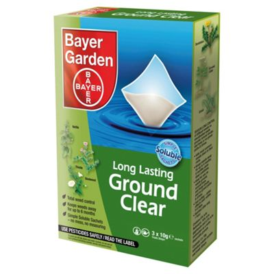 Bayer Ground Clear Weed Killer 3 Pack