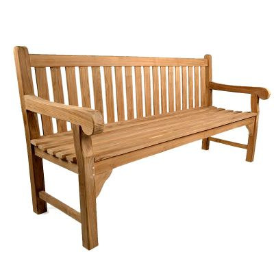 BrackenStyle Queensbury Teak Bench - 4 Seater