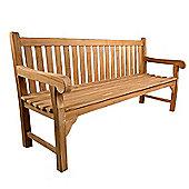 BrackenStyle Queensbury Teak Bench - 4 Seater