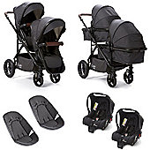 Baby Elegance Cupla Duo Twin Travel System (Charcoal)