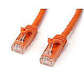 StarTech 15 m Orange Gigabit Snagless RJ45 UTP Cat6 Patch Cable - Orange