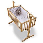 Clair de Lune 2pc Crib Bedding Set (Stardust White)