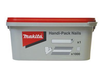 Makita Galvanised Smooth Shank Nails Handi-Pack 3.1 x 90mm