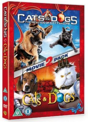 Cats and Dogs 1 and 2 Double Pack