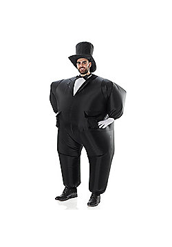 AirSuits Inflatable Tuxedo Groom Suit Fancy Dress Costume Party Outfit