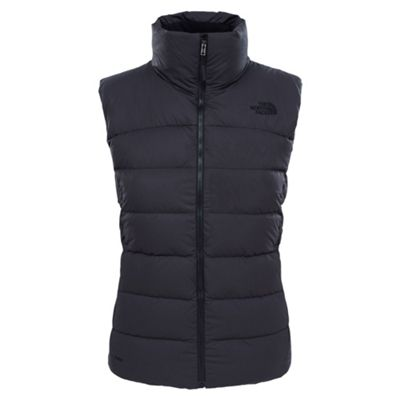 The North Face Ladies Nuptse Vest TNF Black XS