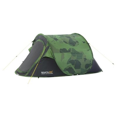 Regatta Malawi 2 Man Pop Up Tent Camo  sc 1 st  Tesco & Pop Up Tents | Sports u0026 Leisure - Tesco