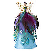 Peacock Fairy Christmas Tree Topper - Large