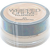 Max Factor Whipped Creme Foundation 18ml - Warm Almond 45