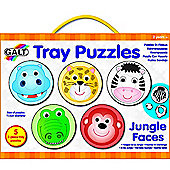 Galt Jungle Faces Tray Puzzle