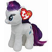 """TY Beanie Baby My Little Pony Buddy 12"""" - Rarity"""