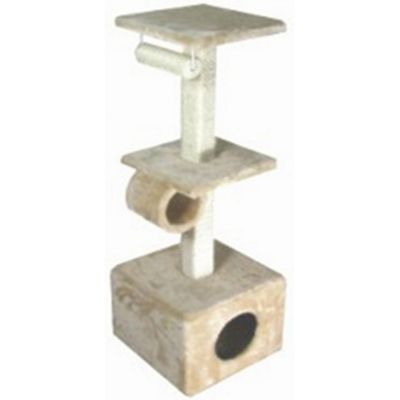 Techstyle Kitty Activity Pole / Cat Scratch Post Toy