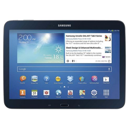 "Samsung Galaxy Tab 3, 10.1"" Tablet, 16GB, WiFi – Black"