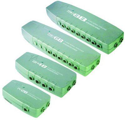 SLX 6 Way TV Aerial Signal Amplifier Booster Splitter