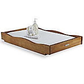 Izziwotnot Bailey Sleigh Cot Top Changer (Oak)