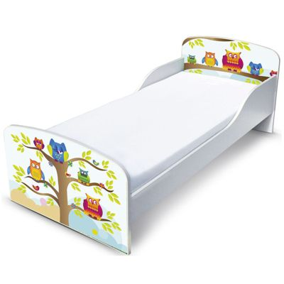 PriceRightHome Owls Toddler Bed