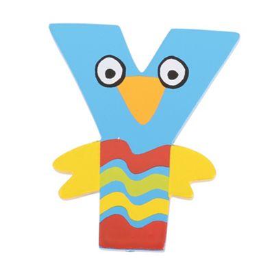 Tatiri Crazy Bird Letter Y (Blue)