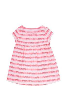 F&F Neon Striped Smock Dress Multi 9-12 months