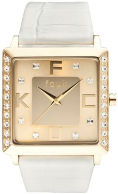 French Connection Ladies Stone Set Watch - FC1048GG