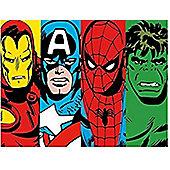 Marvel Avengers Fleece Blanket - Clash