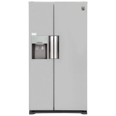 Samsung RS7667FHCSL, American Style Fridge Freezer, Water & Ice Dispenser, Silver