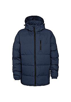 Trespass Mens Clip Padded Winter Jacket - Navy