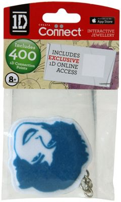 One Direction Fabric Keyring Harry