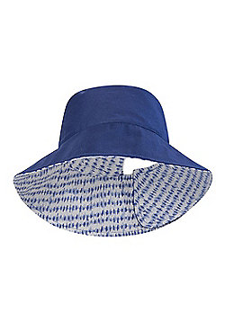 Mountain Warehouse REVERSIBLE PRINTED WOMENS BUCKET HAT - Blue