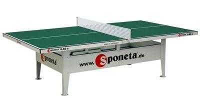 Sponeta Activeline Outdoor Tennis Table - Green