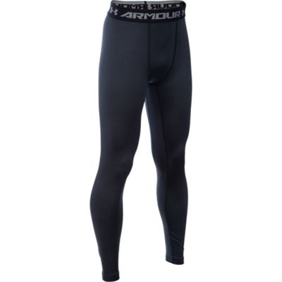Under Armour Coldgear Armour Legging Junior Size Sb (Black)
