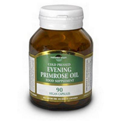 Natures Own Evening Primrose Oil GLA 10% - Omega 6 90 Veg Capsules