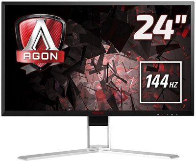 AOC AGON AG241QX 24 QHD FreeSync 144Hz Gaming Monitor
