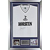 Signed Glenn Hoddle Tottenham Hotspur Shirt - Spurs - Front